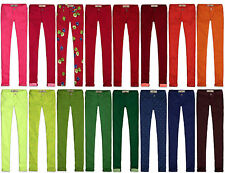 HOLLISTER BY ABERCROMBIE WOMENS JEANS SKINNY JEGGINGS COLORED PANTS HCO DOTS TYE