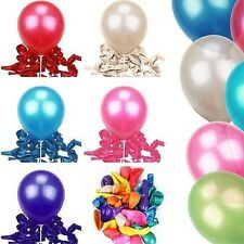 100 Pcs Wholesale Helium Balloons Party Wedding Birthday Latex Balloons