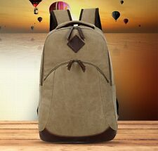 Canvas Men's Backpack Vintage Men Rucksack Preppy Style Backpacks For Teenagers