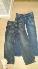 Mini bundle 2 x boys trendy jeans age 6 years one skinny leg one straight 2 pair