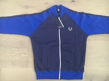 Fred Perry Men's Bomber Track Jacket New With Tags Rich Navy