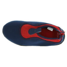 Wal-Mart 1416 Athletic Swimming Kids Water Shoes Sports Blue Red Medium