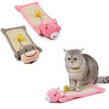 Lovely Kitty Claw Toy Cat Kitten Scratching Board Mat Natural Sisal Scratch Pad