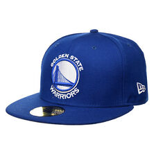 New Era Golden State Warriors Royal White 59Fifty Fitted Hat (Royal)