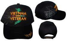 Vietnam Veteran US Military Baseball Caps Hats  Embroidered (7506V68 ^)