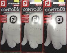THREE (3) NEW 2017 FootJoy FLX CONTOUR Golf Gloves, PICK A SIZE, #1 Glove