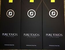 THREE (3) NEW 2017 FootJoy PURE TOUCH LIMITED Golf Gloves, PICK A SIZE, #1 Glove
