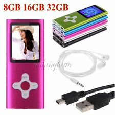 "8/16/32GB Digital MP3 MP4 Player 1.8"" LCD Screen FM Radio, Video, Games & Movie"