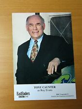 EASTENDERS TONY CAUNTER ROY EVANS BBC CAST CARD FREE P&P