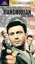 NEW VHS! THE MANCHURIAN CANDIDATE Frank Sinatra Janet Leigh Angela Lansbury