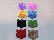 Custom Engraved Kitty/Cat Pet ID Tag-1 Sided-8 Colors