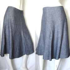 BANANA REPUBLIC skirt 0 or 2 / linen silk wool