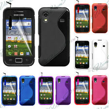 Case Cover TPU Silicone GEL Soft S Wave Samsung Galaxy Ace S5830 S3539+ Film