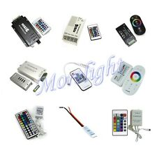 12V Wireless RF/IR Dimmer Control Touch Remote Controller for LED RGB Strip