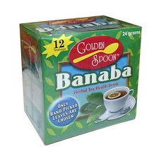 Golden Spoon Herbal Tea Banaba No Artificial Preservatives Colors or Flavors