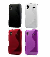 SOFT GEL SILICONE CASE COVER SAMSUNG GALAXY ACE S5830 Black White Pink Purple