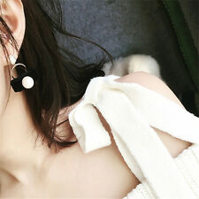 Pearl Velvet Earrings For Women Design Cute 1Pair Pearl Stud Earrings Earring