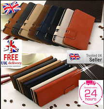 Luxury Suede Leather Magnetic Flip Stand Wallet Case For Samsung Galaxy Models