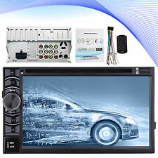 Bluetooth Car In-Dash Stereo Audio FM Aux Input Receiver SD USB MP3 Radio Player