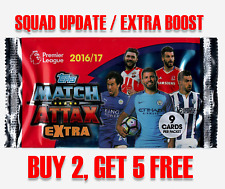 Match Attax Premier League EXTRA 16/17 - EXTRA BOOST / SQUAD UPDATE cards