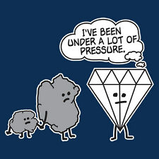 DIAMOND PRESSURE-Sarcastic Humor Graphic Gift Idea Cool Funny Novelty T-shirts