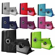 Leather 360° Rotating Stand Case Cover for iPad 2 3 4 iPad Mini 123 iPad Air 1 2