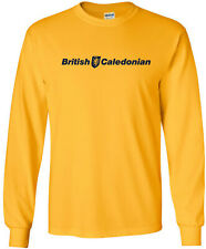 British Caledonian Retro Logo UK Airline Long-Sleeve T-Shirt