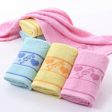 New Creative Gift Durable Absorbent 100% Cotton Face Bath Hand Towels Washcloths