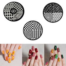 Fashion DIY Nail Art Image Stamp Stamping Plates Manicure Template 9 Styles BX