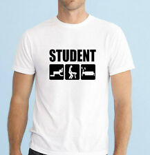 Funny STUDENT LIFE men's funny t-shirt size S-XXL great birthday gift