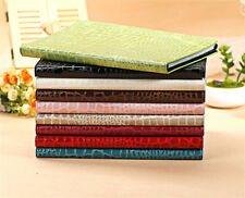 Crocodile Leather Flip Grain Magnetic Case Smart Cover Stand for iPad Air/Air 2