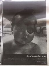 BLUR - THERES NO OTHER WAY - original magazine advert small poster