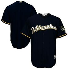 Milwaukee Brewers MLB Mens Majestic Cool Base Replica Jersey Big & Tall Sizes