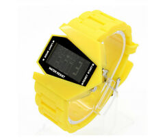 Multi-function Unisex Electronic Aircraft Wrist Lover Colorful LED Sport Watch E