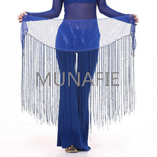 NEW 2017 Belly Dance Tribal Tassel Hip Scarf wrap Belt Skirt Fringes Shawl Belt