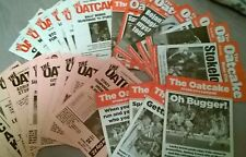 Stoke City OATCAKE Fanzines -  from £1 (Or offer £18 + £11.50 P&P for the LOT !)