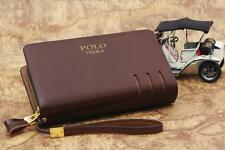POLO FEIDKA Leather / Clutch Bag / Men Long Wallet / Hand Carry Bag