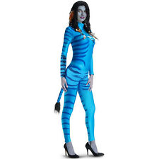 Avatar Movie Sexy Neytiri Adult Fancy Dress Halloween Costume Leotard Jumpsuit