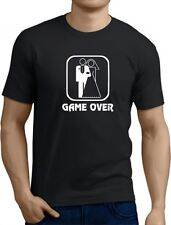 Game Over Funny Mens T-Shirt Great birthday gift present stag top wedding tee