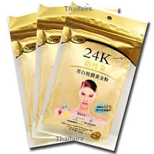 24K ACTIVE GOLD SOFT MASK GOLD POWDER BRIGHTENING LUXURY SPA ANTI AGING 50 gr.x3