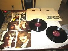 The Beatles The White Album Capitol W/Photos and Poster Gatefold Record Album