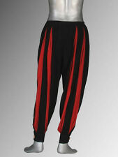 Striped Medieval or Renaissance Pants Handmade Cotton