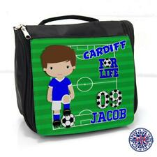 Cardiff Football Wash Bag Boys Sleepover Toiletry Case *Personalised* FL18