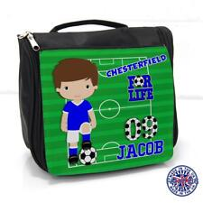 Chesterfield Football Wash Bag Boys Sleepover Toiletry Case *Personalised* FL21