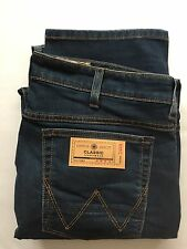 MENS WRANGLER SUPER STRETCH JEANS CUT LABEL SOFT PREMIUM DENIM ZIP FLY 3 COLOURS