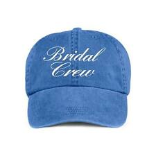 Bridal Crew Baseball Style Cap Hat Bridal Wedding Party Bridesmaids