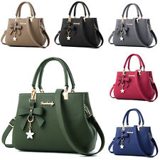 Casual Womens style Tote Handbag Purses Cross Body bow Satchel shoulder bag New