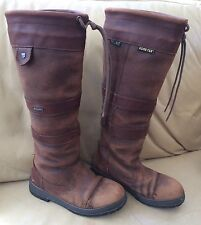 Dubarry Galway Leather Boots Size 37 - Well Worn