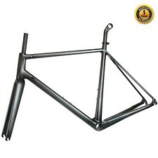 Carbon Fibre Road Frameset. Frame, Forks, Seatpost. UK SELLER / UK STOCK