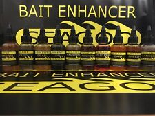 solent seagoo bait enhancer additive sea fishing bait black lug squid mackerel